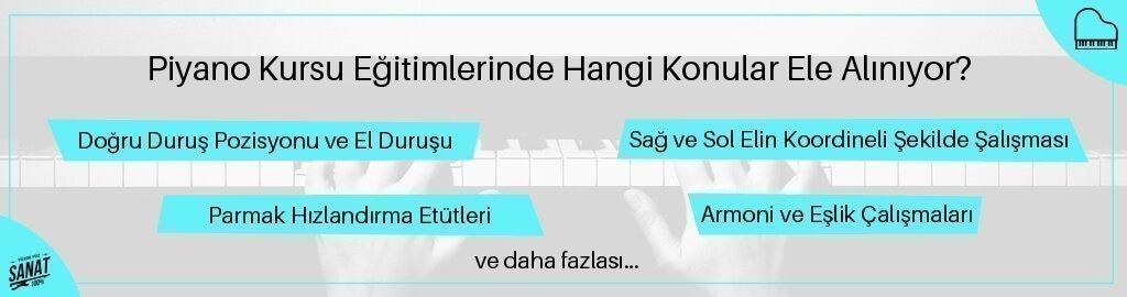 piyona kursu egitimlerinde hangi konular ele aliniyor - İzmir Piyano Kursu