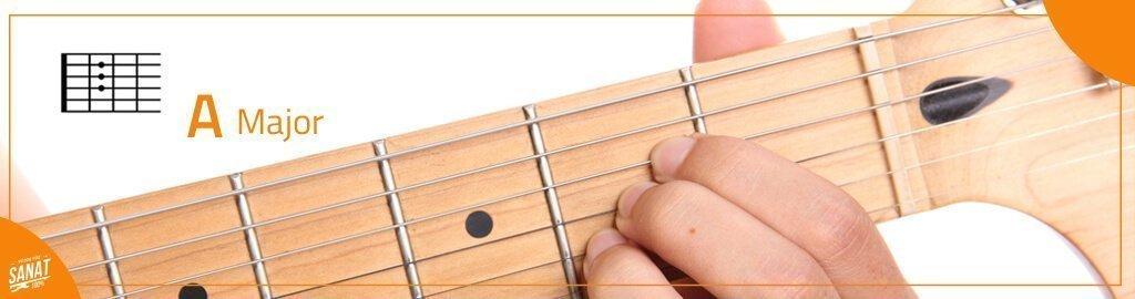 gitar A major - Gitar ile Çalınabilecek En Kolay Şarkılar