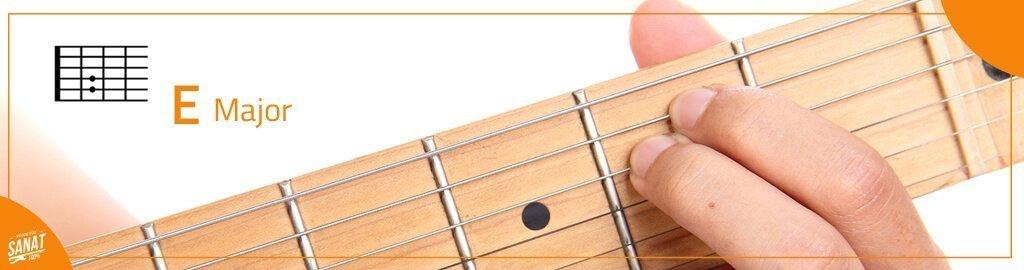 gitar E major - Gitar ile Çalınabilecek En Kolay Şarkılar