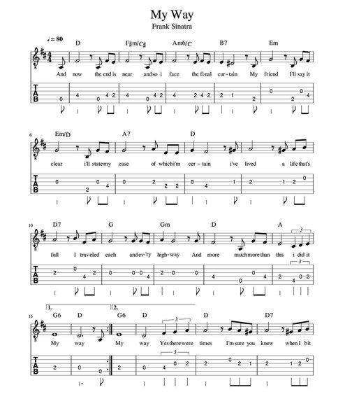 keman ile calinabilecek sarkilar my way - Keman İle Çalınabilecek En Kolay Şarkılar