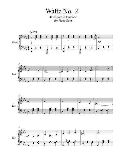 keman ile calinabilecek sarkilar waltz no 2 - Keman İle Çalınabilecek En Kolay Şarkılar